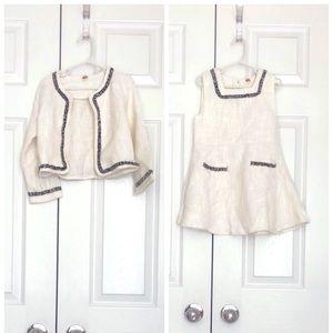 Kids - Dress and Cardigan Set
